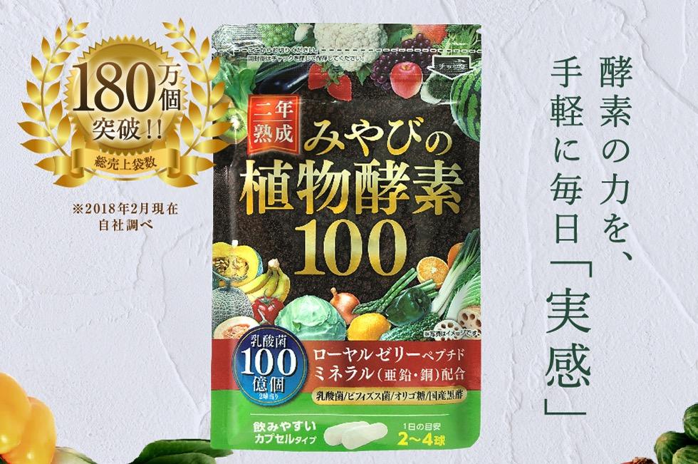 みやびの植物酵素100の総合評価